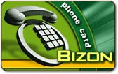 Bizon calling card